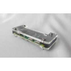Obudowa do Raspberry Pi ZERO - box czarno-przezroczysta