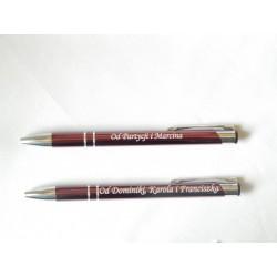 Długopis z osobistą dedykacją