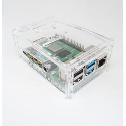 Obudowa do Raspberry Pi 4B - przezroczysta