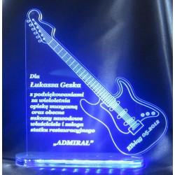 Statuetka z akrylu - instrumenty