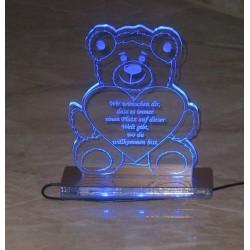 Statuetka z akrylu - podświetlana akryl 5mm.