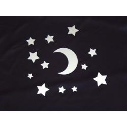 Księżyc i gwiazdki - lustro