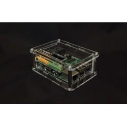 Obudowa do Raspberry Pi model 3/2/B+ plus moduł PiFace 2 - przezroczysta lub czarna.
