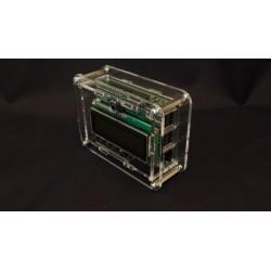 Obudowa do Raspberry Pi B+ plus Control & Display 2 - przezroczysta lub czarna.