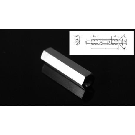 Dystans metalowy M 2.5 długość 20mm
